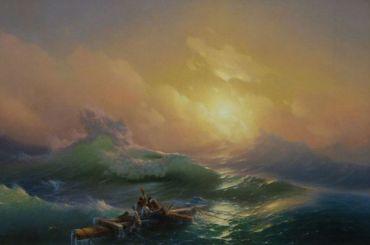 «Девятый вал» Айвазовского вернулся вРусский музей