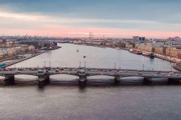 Три моста разведут вПетербурге вночь на15марта