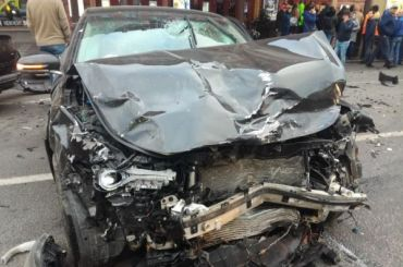 СМИ: виновник аварии наНевском проспекте был пьян