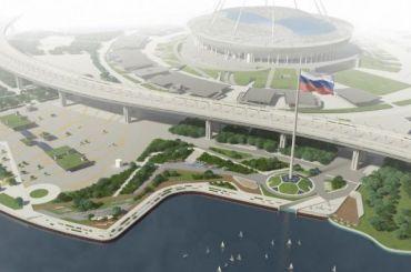 Около «Газпром Арены» построят центр водных видов спорта