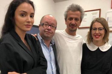 Собчак приехала вПетербург ради премьеры спектакля Богомолова