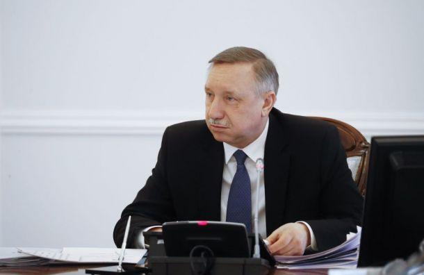 Александр Беглов встретился сдепутатами Заксобрания