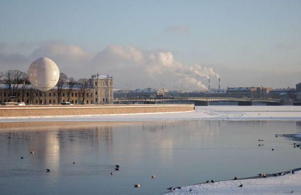 Петербуржцам ввоскресенье обещают 5 градусов тепла