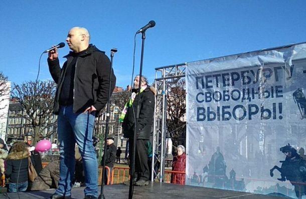 Пивоваров: петербуржцам навязывают политика с19-процентным рейтингом
