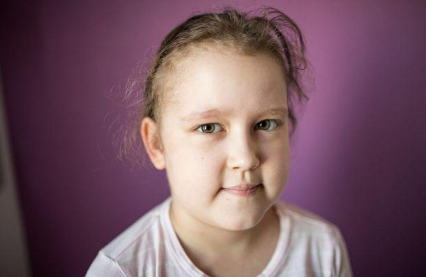 Восьмилетней Камилле нужна трансплантация