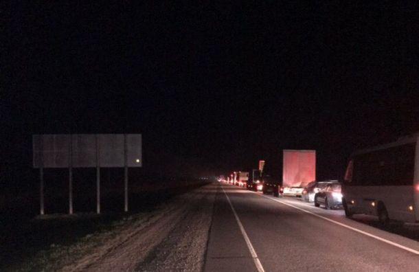 Смертельное ДТП спожаром произошло наМурманском шоссе