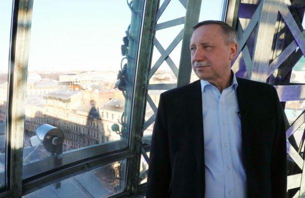 Врио губернатора Петербурга запустил блог «Беглов вдвижении»