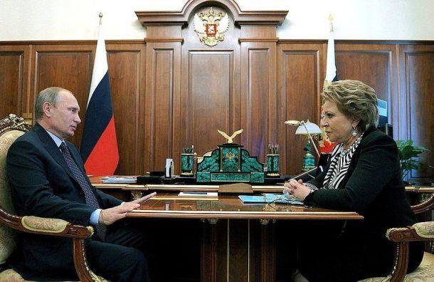 Матвиенко: янехотела быть губернатором Петербурга