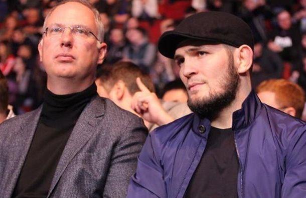 Хабиб похвалил организацию турнира UFC вПетербурге