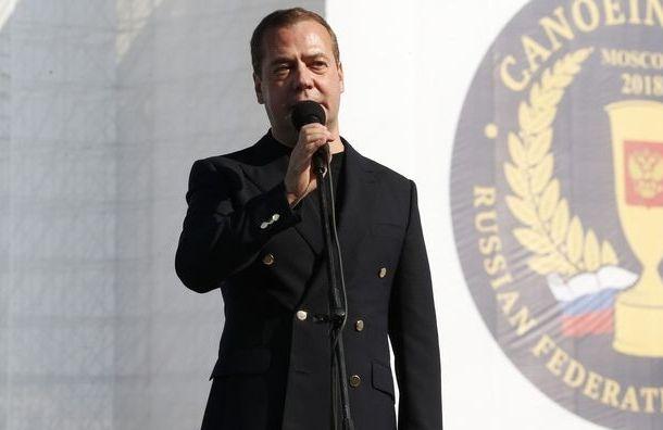 Медведев: ввыпускном классе получил двойку вчетверти