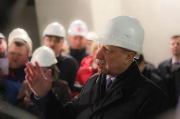 Беглов пообещал решить проблемы 85% дольщиков кконцу года