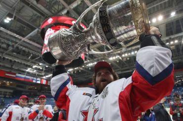 Новым обладателем Кубка Гагарина стал ЦСКА