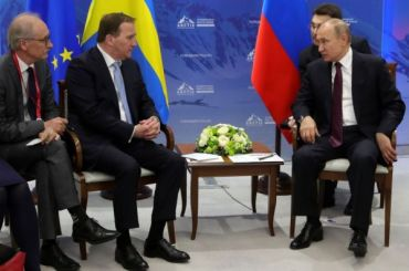 Путин вшутку назвал переводчика бандитом наАрктическом форуме