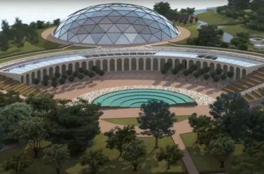 Беглов показал проект арт-парка наместе судебного квартала