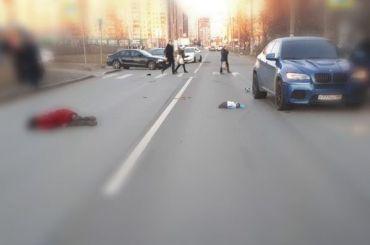 BMW насмерть сбил женщину вПриморском районе