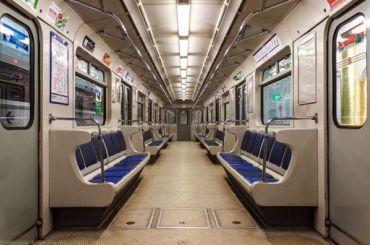Петербуржца арестовали на30 дней заразбитое стекло вагона метро