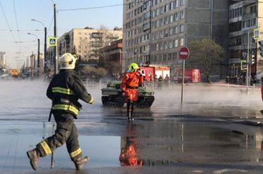 Горячую воду вдома наулице Димитрова вернут завтра