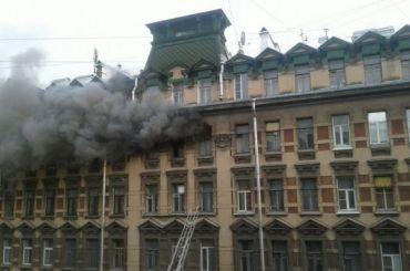 Пожарные потушили исторический дом наулице Жуковского