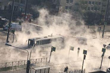 МЧС: ваварии наДимитрова никто непострадал