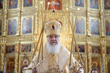 Патриарх Кирилл поздравил Зеленского спобедой навыборах