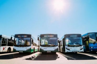 Почти две тысячи автобусов отмоют вПетербурге