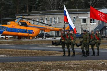 Технику для парада Победы покажут вПетербурге