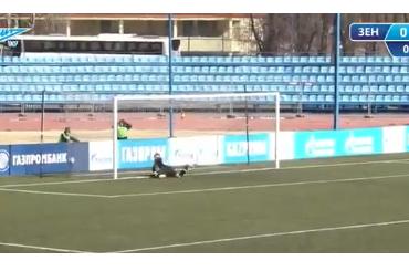 Зенитовец забил всвои ворота ударом с30 метров