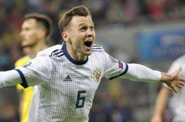 Сборная России поднялась на46-е место врейтинге FIFA