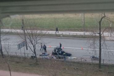 Два парня погибли вДТП савтобусом вКолпине