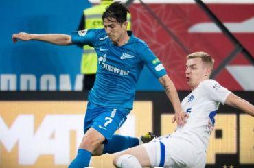 «Зенит» одержал уверенную победу над «Динамо»