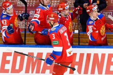 Хоккеисты СКА помогли России победить Швейцарию