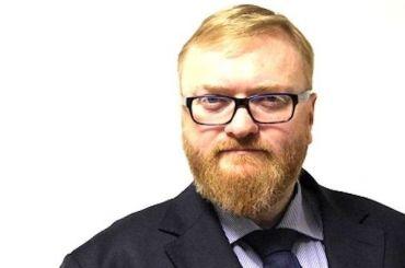 Заявление Милонова онападении передали вСК