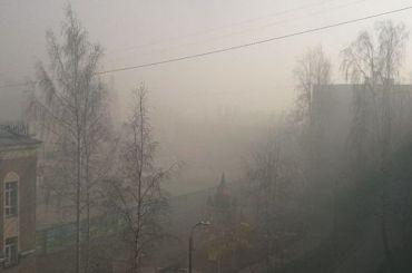 Кронштадт заволокло дымом из-за учений военных