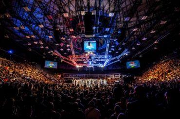 Оверим отправил Олейника внокаут натурнире UFC вПетербурге