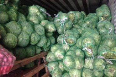 Подозрительные овощи изУзбекистана непустили вПетербург