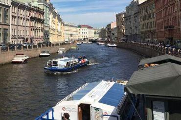 Открывается навигация поводным путям Петербурга