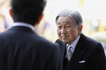 Император Японии отрекся отпрестола