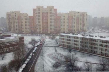 Зима вернулась вПетербург