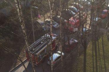 При пожаре вдоме напроспекте Просвещения погиб человек