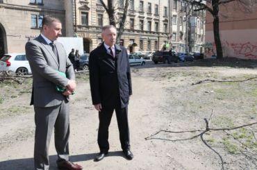 Беглов поручил благоустроить пустырь наСытнинской улице