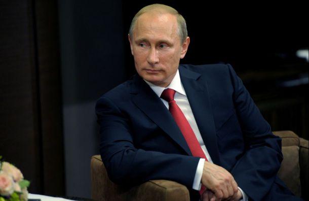 Путин овыборах наУкраине: «Это полный провал Порошенко»