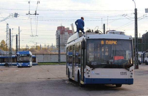 Троллейбусы будут ходить попроспекту Ветеранов в«Ночь музеев»