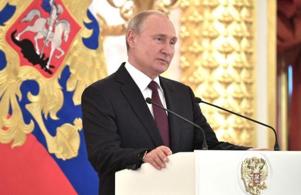 ВЦИОМ: рейтинг Путина снизился еще на1,2%