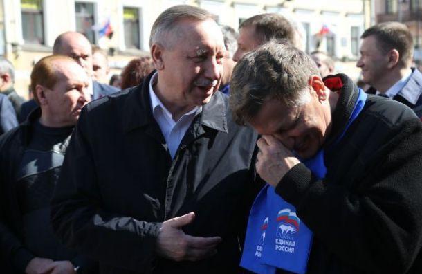 Беглов неизвинился заразгон первомайской демонстрации