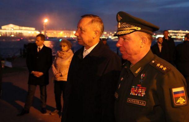 Беглов высоко оценил проведение Дня Победы вПетербурге