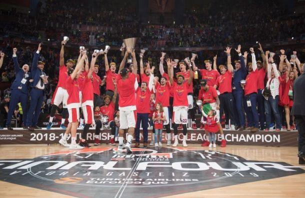 Баскетбольный ЦСКА стал чемпионом Евролиги