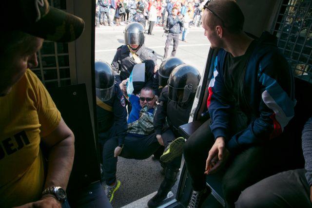 Первое мая в Петербурге, задержания 7