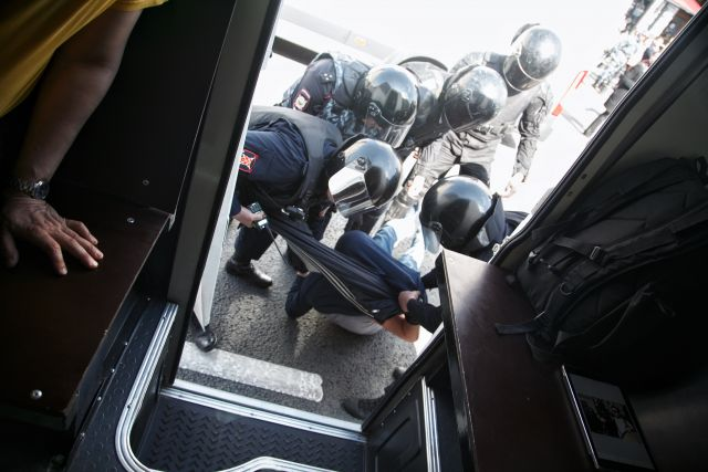 Первое мая в Петербурге, задержания 11
