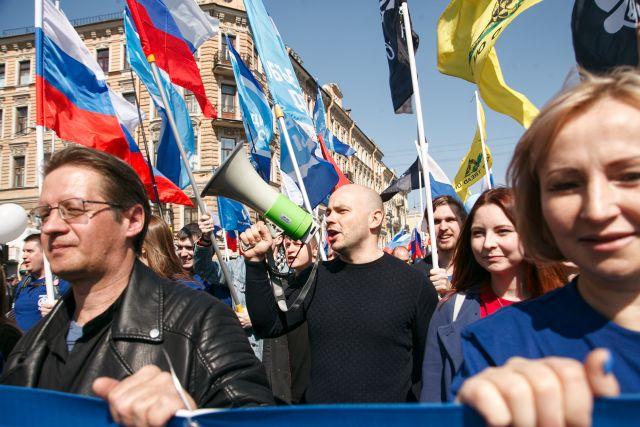 Первое мая в Петербурге, задержания 4