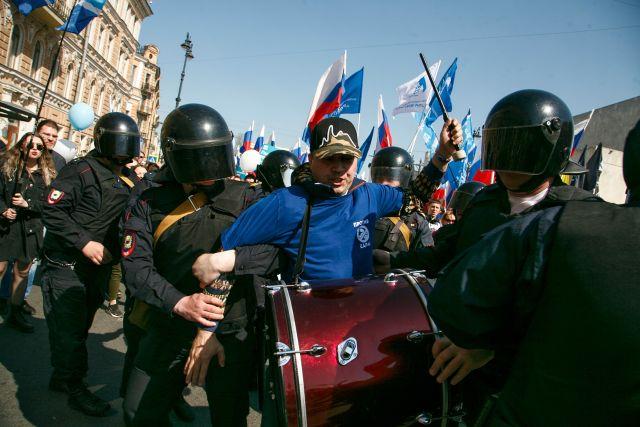 Первое мая в Петербурге, задержания 5